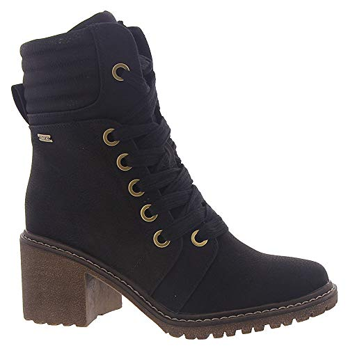 Roxy Women's Eddy Fashion Boot, Black, 10 M US