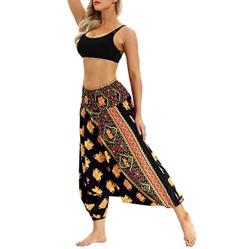 UOKNICE Sale Pants for Women,July Fourth Men Women Casual Bohemian Loose Yoga Travel Lounge Festival Beach Print Pants