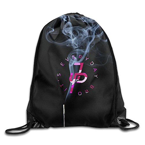 Jake Paul It's Every Day Pink Unisex Drawstring Backpack Travel Sports Bag
