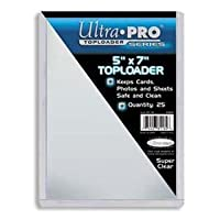 "Cargador superior Ultra Pro (5 ""x 7"") - Paquete de 25"
