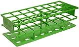 Nalgene 5970-0430 Acetal Plastic Unwire Test Tube Rack for 30mm Test Tubes, Green
