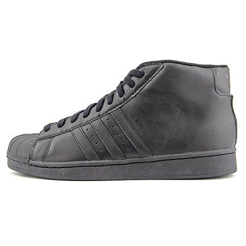 Adidas Originals Men's Pro Model Fashion Sneaker, Black/Black/Black, 9 M US