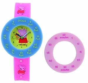 Peppa Pig Time: Reloj para niños