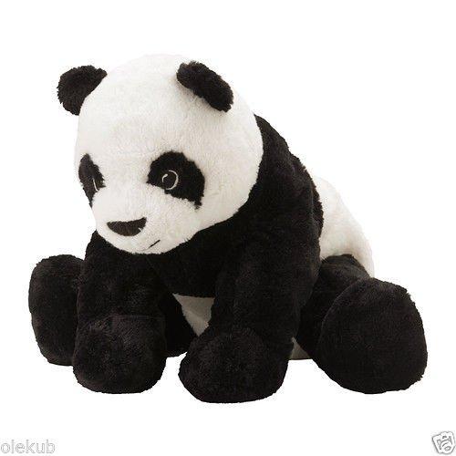 IKEA KRAMIG SOFT TOY PANDA BEAR PLUSH STUFFED ANIMAL 11