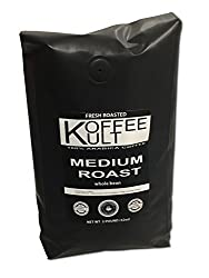 Koffee Kult Coffee Beans Medium Roasted - Highest Quality Delicious Coffee - Whole Bean and Ground Coffee - Fresh Roasted Gourmet Aromatic Artisan Blend É