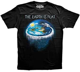 Flat Earth t-shirt, Earth is flat, Firmament, Sheol, NASA, Conspiracy, New World Order, Atheism, Big Bang, Evolution