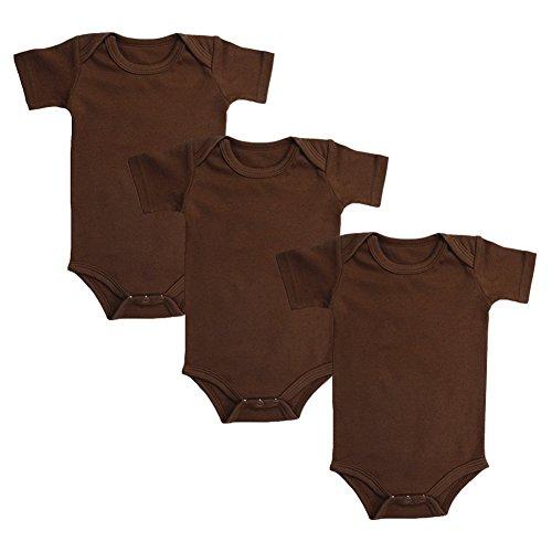 (Infant Onesies Newborn Baby Boys Short Sleeve Bodysuit Set of 3)