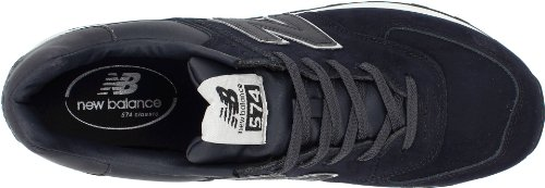 Balance With Unisex Adults' 574 Navy Trainers New Blue Silver pnq7w1C0d