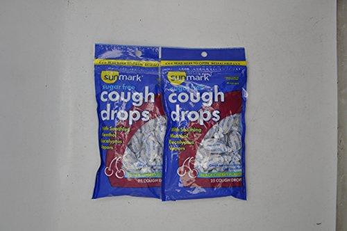 Vapor Black Cherry - Sunmark Sugar-Free Cough Drops - Black Cherry - 25 Ct.