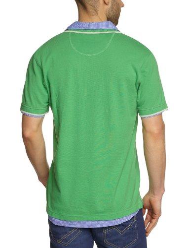 Lerros - Polo de manga corta para hombre Verde 651