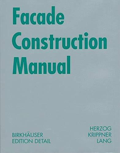 [BEST] Facade Construction Manual (Construction Manuals (englisch)) WORD