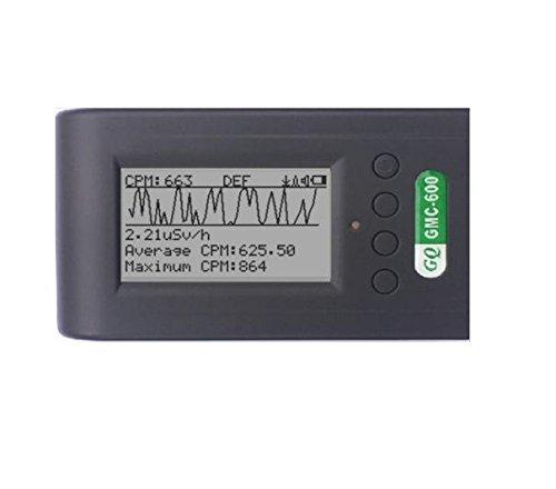 gmc-600 contador Geiger detector de radiación Dosímetro Alpha Beta Gamma rayos X: Amazon.es: Industria, empresas y ciencia
