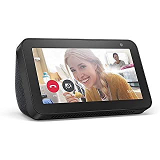 Echo Show 5 (Charcoal) Kitchen Bundle with Food Network Kitchen Complimentary Subscription