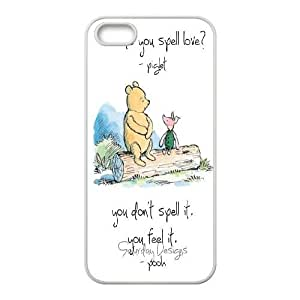 Steve-Brady Phone case Winnie the pooh Protective Case For Apple Iphone 5 5S Cases Pattern-17 by runtopwell