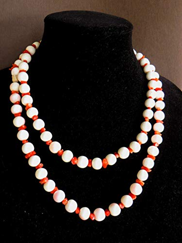 Angelskin Conch Shell and Mini Branch Coral Beads