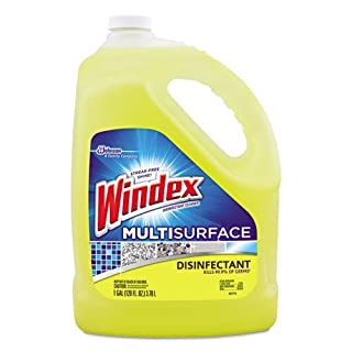 Windex Disinfectant Multisurface All-Purpose Cleaner Refill 1 Gallon- Citrus Scent