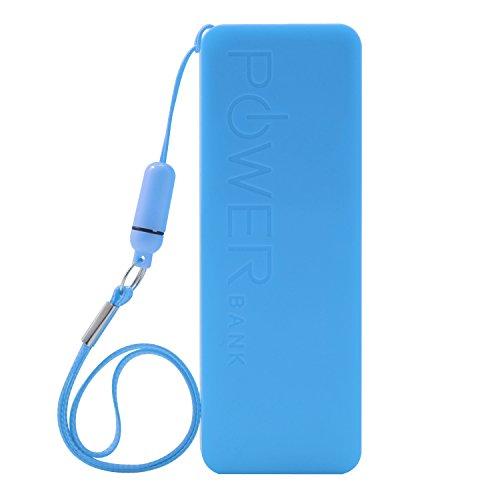 iProtect 5600mAh Power Bank Une batterie externe et chargeur pour votre Smartphone et autres appareils avec une sortie USB. Un câble USB est inclus dans la livraison, câble Apple iPhone et une boucle