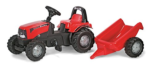 Rolly Toys CASE CVX 1170 Kid Tractor with Trailer by Kettler