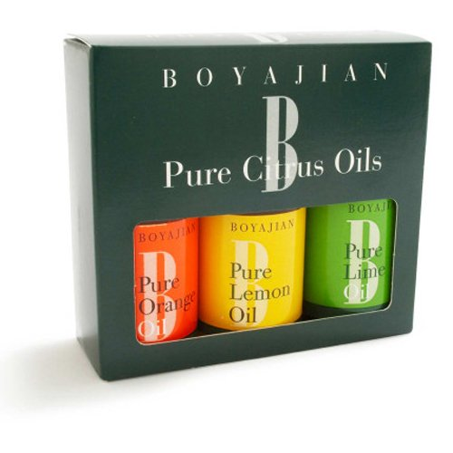 Boyajian Inc Boyajian Assorted Pure Citrus Oil, Set of 3 (Lemon Pudding Bread)