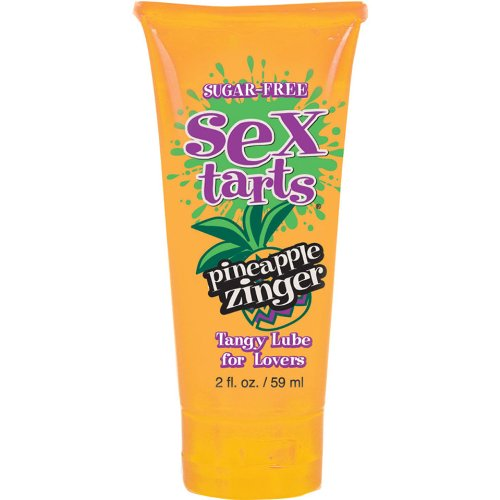 Sex Tarts Tangy Personal Lubricant for Lovers, Pineapple Zinger, 2 fl. oz., Health Care Stuffs