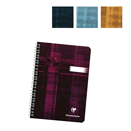 Clairefontaine Wirebound 6X8 25 Assorted colors