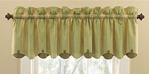 Waverly 15-in L Sage Home Classics Box pleat Valance Item#59369 Model#10426 UPC# 885308073662