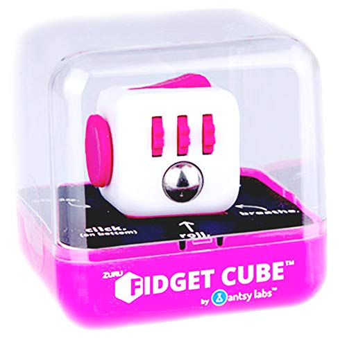 Fidget Cube Authentic Original Series 1 Pink & White by Antsy Labs (Image #3)