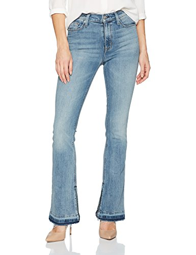 Hudson Jeans Women's Heartbreaker High Rise Bootcut 5 Pocket Jean, Shock Waves, 31 - Heart Pocket Jeans