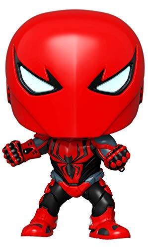 POP! Funko Marvel Exclusive Spider-Man – Spider-Armor MK III #670 w/ Free Acrylic Case