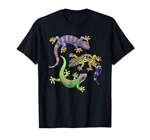Cute Gecko TShirt Wildlife -