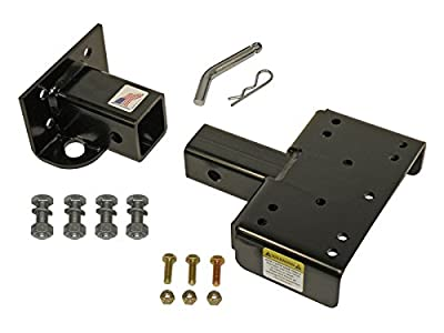 John Deere Gator 2 Inch Front Mount Receiver Hitch Assembly - Application Specific - Made In U.S.A.