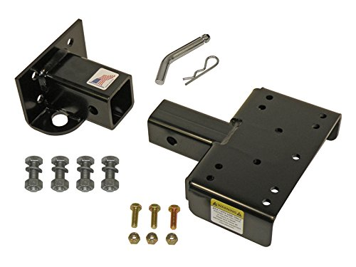 John Deere Gator 2 Inch Front Mount Receiver Hitch Assembly - Application Specific - Made In U.S.A. Rigid Hitch