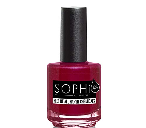 SOPHi Nail Polish Non-Toxic Water Based Eco-Friendly Safe Enamel Lacquer 0.5 oz | Out of the Cellar