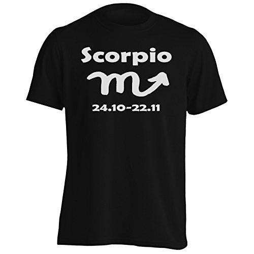 New Mens Zodiac - New Scorpio Zodiac Sign Men's T-Shirt Tee b38m