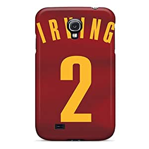 Samsung Galaxy S4 Gdz12237eEvE Customized Stylish Cleveland Cavaliers Skin Bumper Hard Cell-phone Cases -RichardBingley