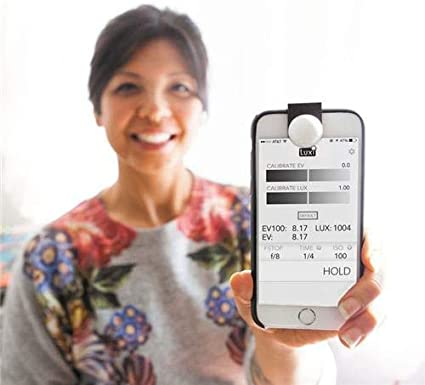 Luxi For All Smartphone Lichtmessgerät Für Ios Geräte