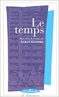 Le temps par Alban Gonord