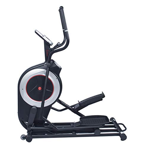 Sunny Health & Fitness Motorized Elliptical Trainer Elliptical Machine with Programmable Monitor, High Weight Capacity and 20 Inch Stride – SF-E3875
