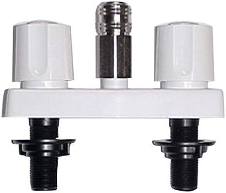 3-3//8 Black Phoenix PF213790 2-Handle Faucet