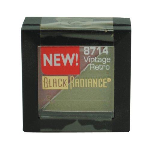 Black Radiance Dynamic Duo Eye Shadow Duo 8714 Vintage Retro .06 Oz. (1 Each)