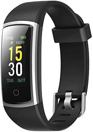 CHEREEKI Fitness Tracker, Heart Rate Monitor Activity Tracker with Blood Pressure Sleep Monitor 14 Sports Tracking, Color Screen IP68 Waterproof, Fitness Watch Step Calorie Counter
