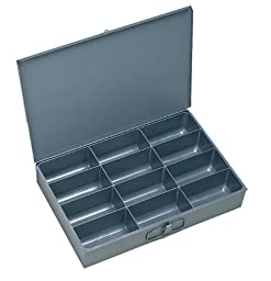 Durham 115-95-IND Gray Cold Rolled Steel Individual Large Scoop Box, 18\