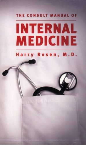 by-harry-rosen-the-consult-manual-of-internal-medicine-1st-first-edition-paperback