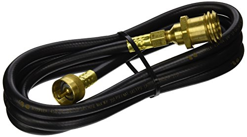 Century Hose Assembly with Type 1 (QCC1) Coupling, Black, 8-feet