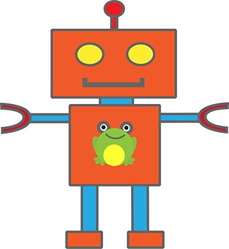 Kiddobloom Kids Stainless Steel Utensil Set, Robot Model, set of 3 (Spoon, Fork, and Butter Knife) Perfect for Preschoolers by Kiddobloom (Image #1)