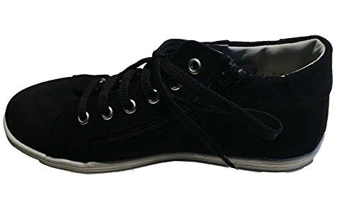 Däumling Kinderschuhe, Hohe Schuhe, Sneaker, Kommunionsneaker schwarz-70 (Turino schwarz)