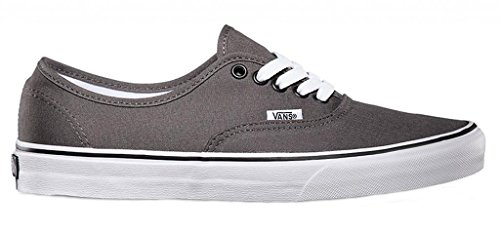 Vans Unisex Classic Authentic Canvas Sneakers Pewter/Black ZkFKbSd