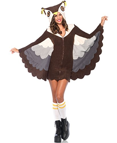 Cozy Owl Adult Costume - Small ()