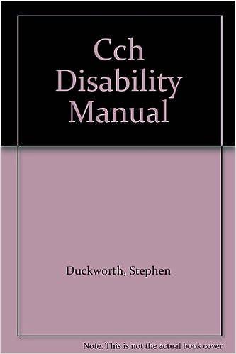Ebook à télécharger gratuitement Cch Disability Manual en français PDF PDB CHM