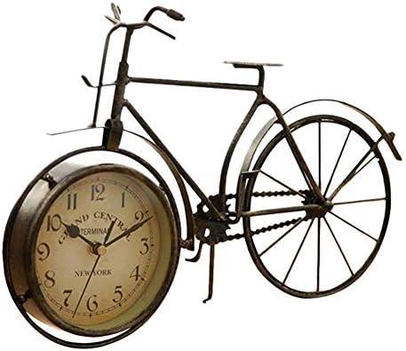 ASDFGH Vintage Clásico Tipo Hierro Bicicleta del Vintage Reloj ...